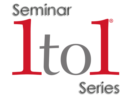 1to1 seminar series logo